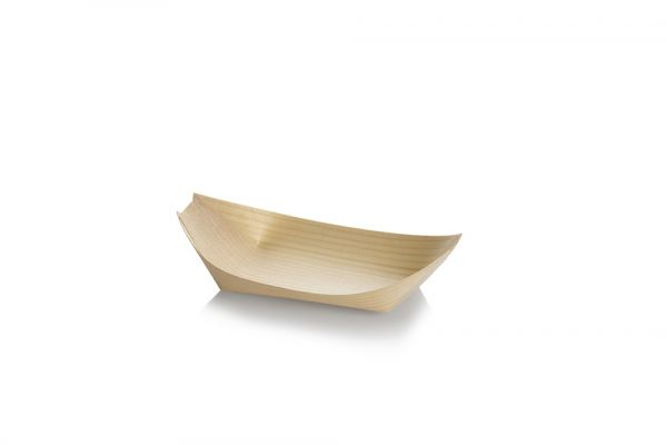 Træbåd i poppel 170mm, FSC 100% - 2.400 stk krt *