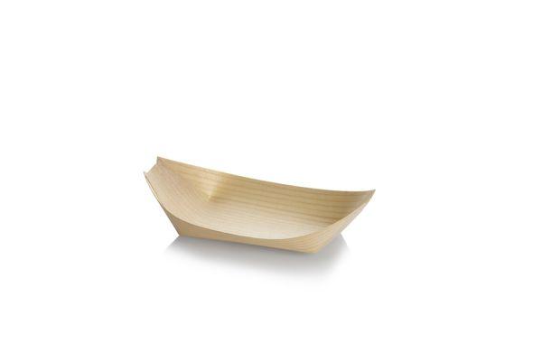 Træbåd i poppel 245mm, FSC 100% - 1.200 stk krt *