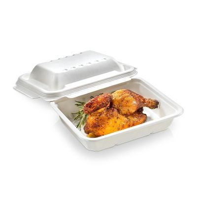 Domed lid 270x222x44mm for 1/2/3-compartment - 125 stk pk