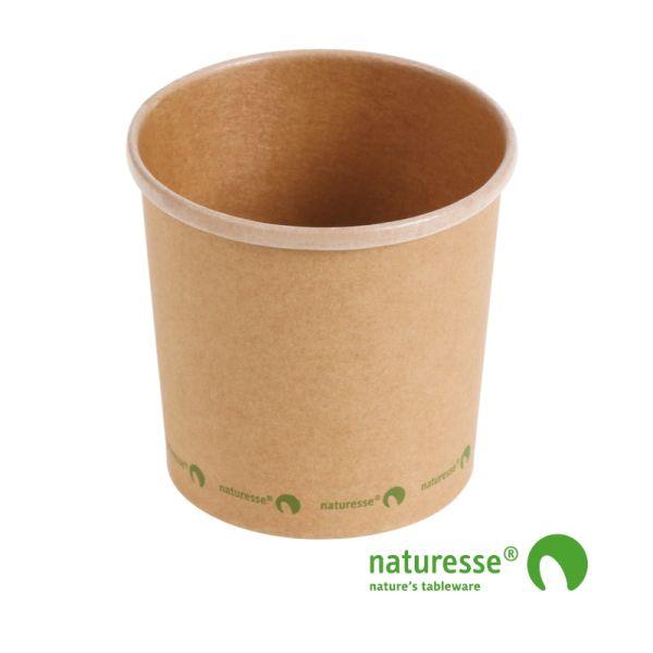 Suppe bæger i karton/PLA 12oz / 360ml, FSC MIX CREDIT - 500 stk krt *