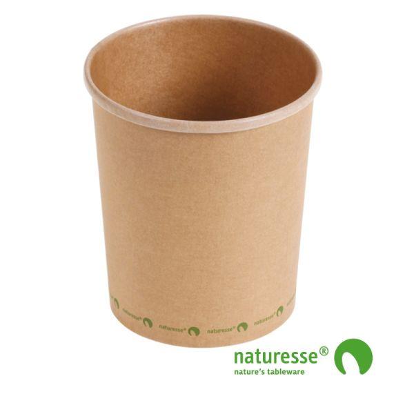 Suppe bæger i karton/PLA 32oz / 950ml, FSC MIX CREDIT - 25 stk pk *
