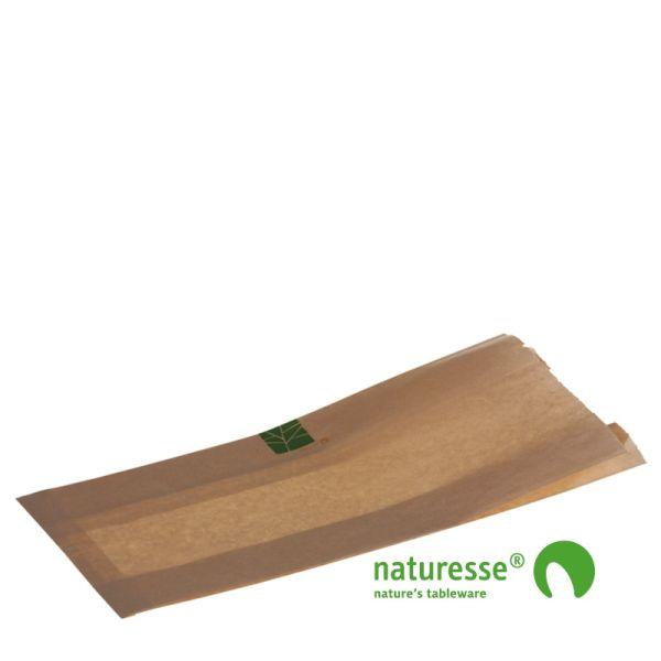 Brødpose i PaperWise, 370x160x2x40mm - 500 stk krt