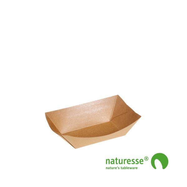Båd i Karton/PLA,  85x51x36mm, FSC® MIX Papir - 1.000 stk krt *