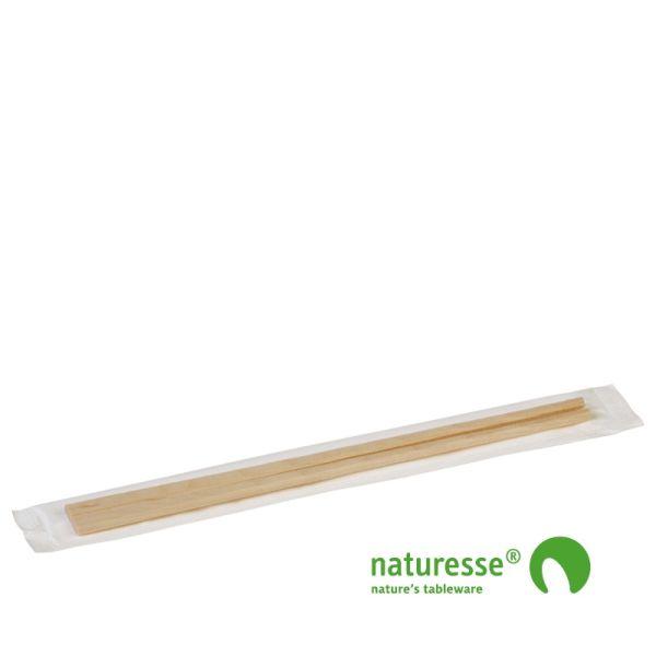 Gaffel - Chopsticks i bamboo 230mm - 2.000 stk krt *