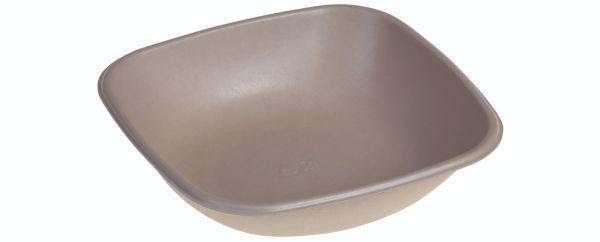SR-fiber - natur m bio coatning, Bowl 500ml, 170x170x40mm - 125 stk pk