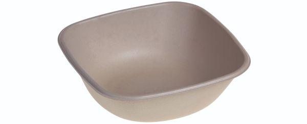 SR-fiber - natur m bio coatning, Bowl 750ml, 170x170x55mm - 125 stk pk