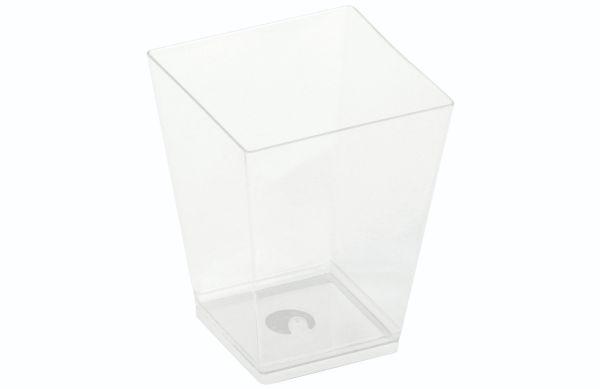 PLA - KOVA dessert glas, 160ml, 59x59x72mm - 50 stk pk*