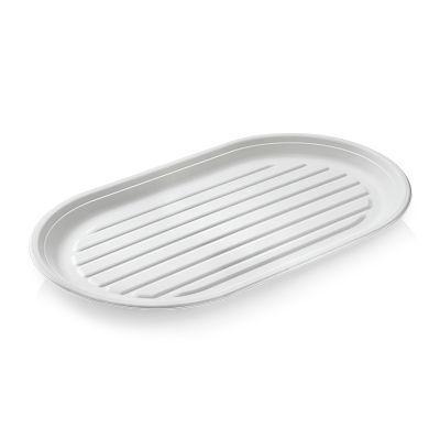SR-fiber - Fad oval, 550x320x25mm - 50 stk pk