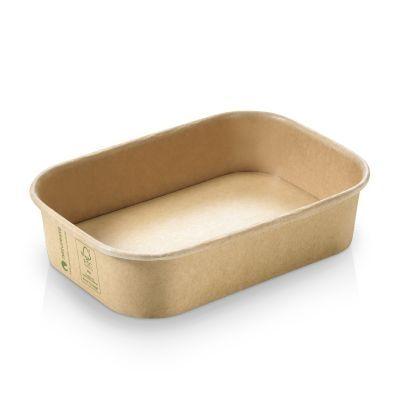 Karton/PLA / natur, Transportbakke, 173x120x40mm, 500ml, FSC MIX CREDIT - 300 stk krt