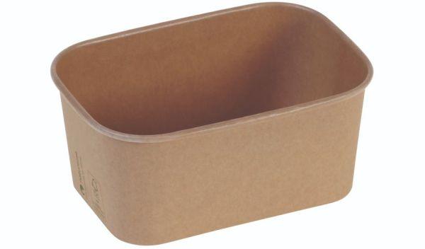 Karton/PLA / natur, Transportbakke, 173x120x75mm, 1000ml, FSC MIX - 50 stk pk