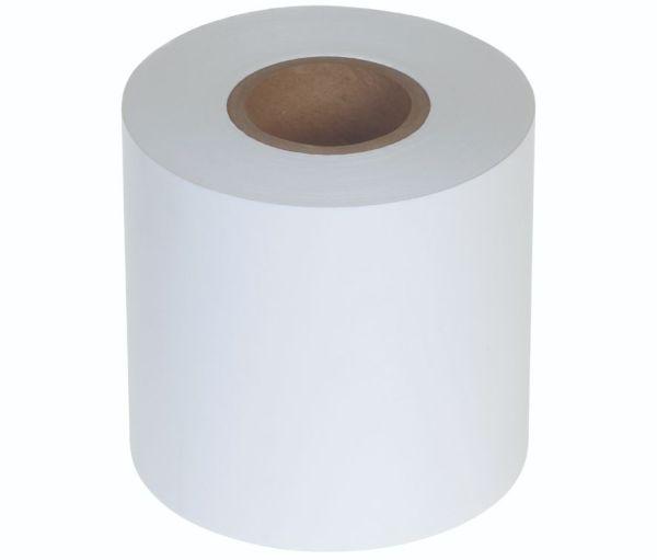 Paper white sealing film, unprinted, 185 mm x 220lfm - 1 stk krt