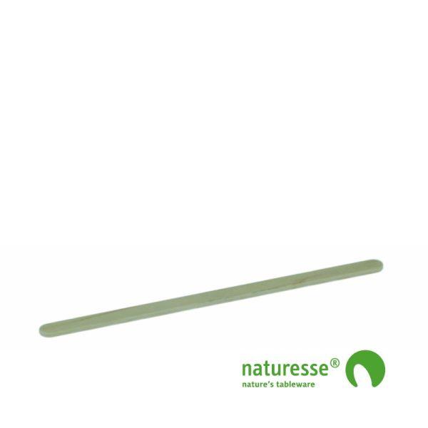 Rørepind i træ - ubehandlet, 190x5x2mm i BOX,  FSC® 100% træ - 1.000 stk pk *
