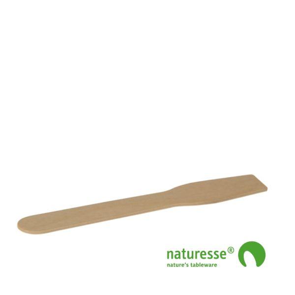 Isspade i træ - ubehandlet, 96mm, FSC 100% - 100 stk pk * Ny vægt