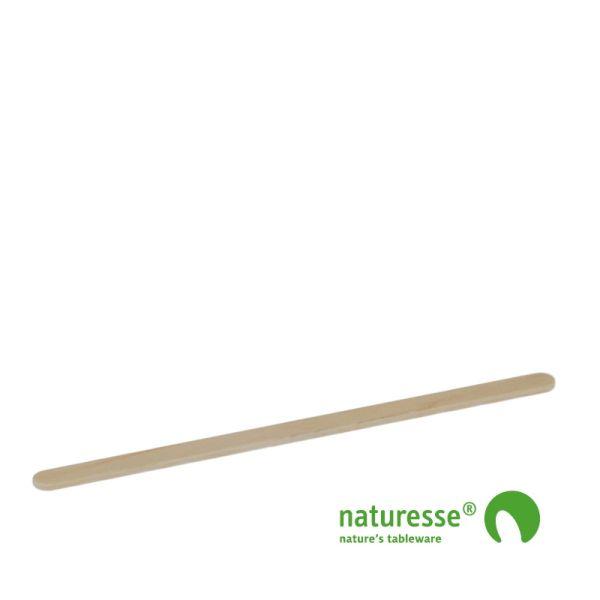 Rørepind i træ - ubehandlet, 140mm i BOX, FSC® 100% træ - 1.000 stk pk *