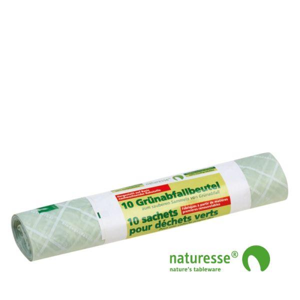 Kompostpose i bioplast 30 liter - 10 stk pk