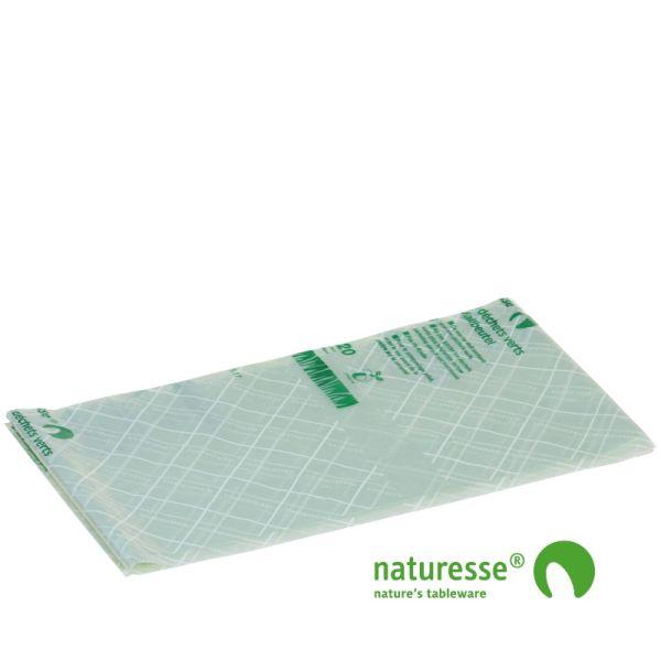 Green affaldssæk 140 ltr i MaterBi bio nedbrydelig folie - 8 stk rulle