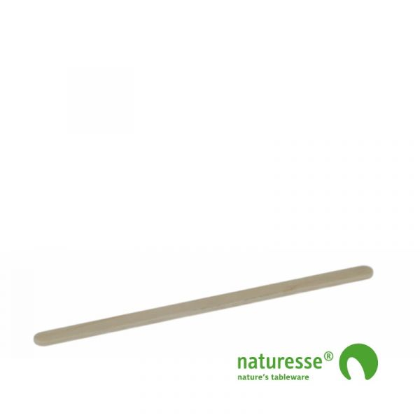 Rørepind i træ - ubehandlet, 114mm i BOX, FSC 100% - 10.000 stk krt *