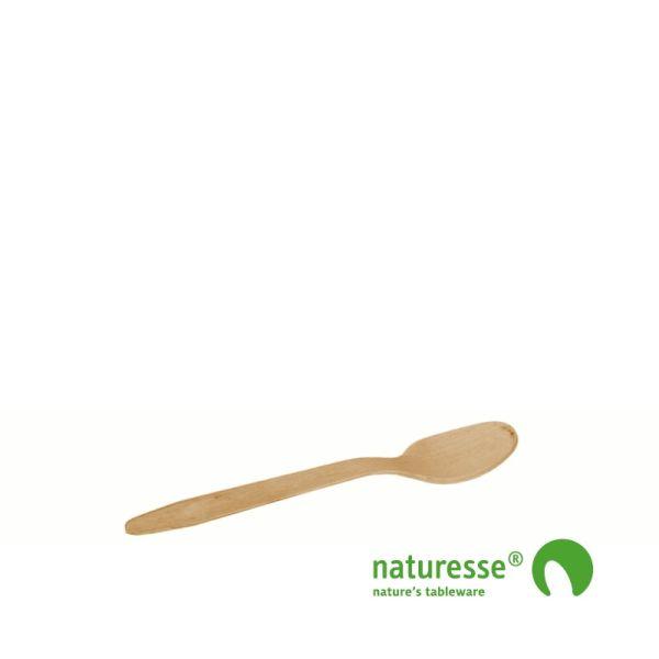 Dessertske i træ 110mm, FSC® 100% træ - 100 stk pk *