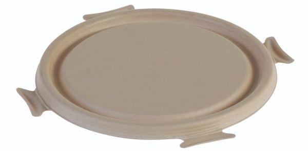 SR-fiber / natur, Låg rund Ø195x12 mm, passende Ø195mm - 50 stk pk