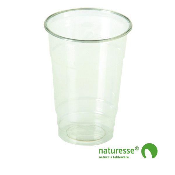 Glas i PLA 2,5dl Ø76mm - 50 stk pk *