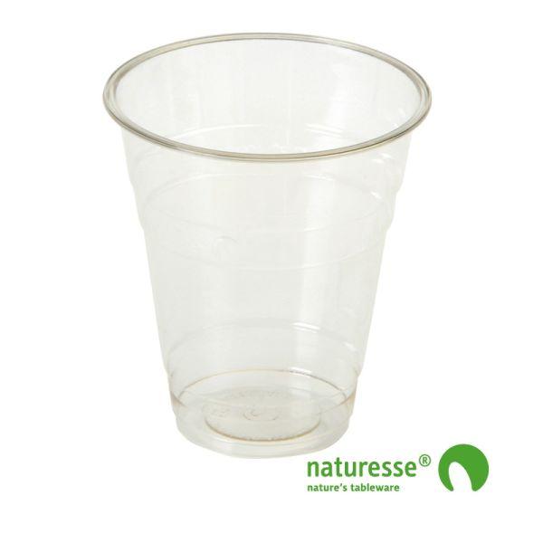 Glas i PLA 3,0dl Ø96 mm - nyt design - 1.200 stk krt *