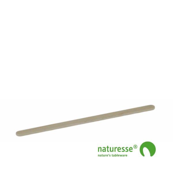 Rørepind i træ - ubehandlet, 160x5x2mm i BOX, FSC 100% - 1.000 stk pk *