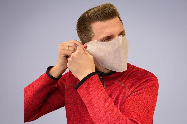 Maske - Beskyttelse mod væske - Hvid - 2000 stk krt