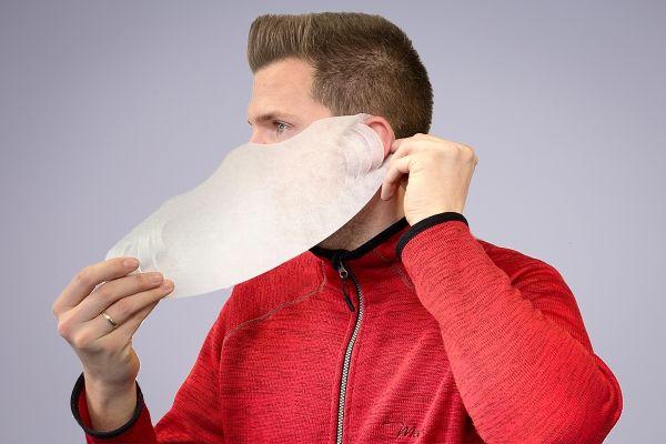 Maske - Beskyttelse mod væske - Hvid - 100 stk pk